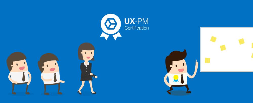UX-PM é uma Certificação em UX, diferente de um curso de UX