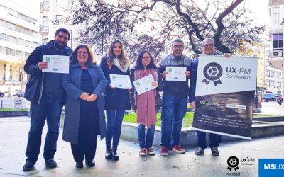 Parabéns aos primeiros profissionais certificados em UX em Portugal!