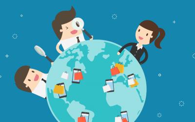 Pelo mundo em 36 apps de e-commerce – benchmark global