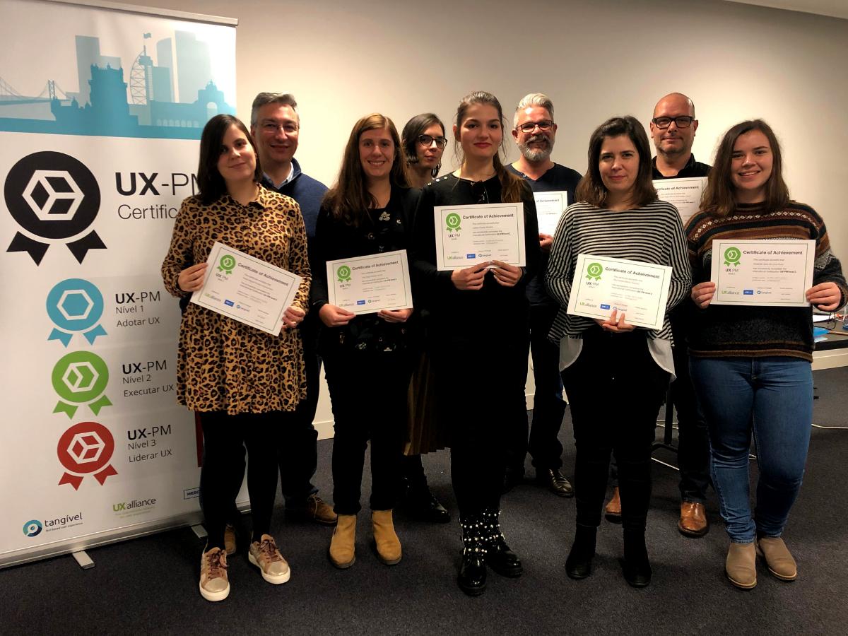 profissionais certificados UX-PM Portugal fev 2019